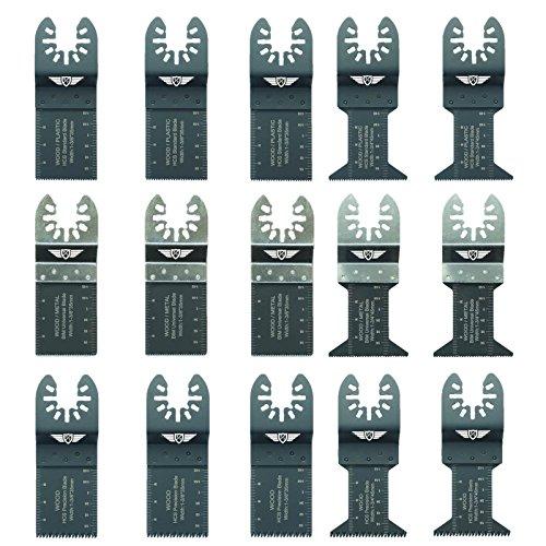 15 x topstools fak15 fast fit mix lames pour dewalt stanley black et decker - Accessoires pour outil multifonction black et decker ...
